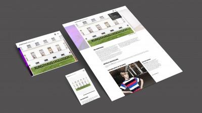 KUNSTHAUS KOLLITSCH Responsive Website